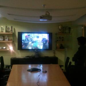 Video Conference (on Rent by customer)